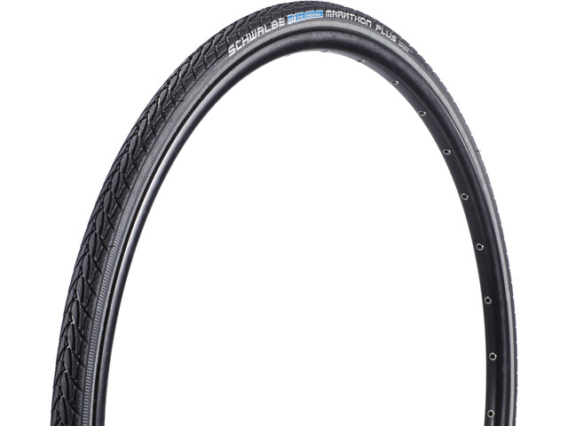 "SCHWALBE Marathon Plus Tyre Performance 28"", wire bead black-reflex"